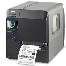 CL4NX Plus 203 dpi with Dispenser incl Liner Rewinder and, RTC + EU power cable