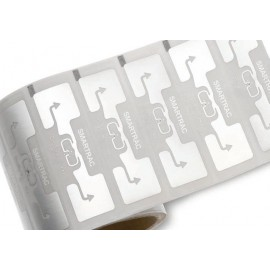 Dogbone RFID UHF tag paper face Monza chip (Roll 3000Unit)