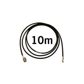 LOW ATTENUATION RF CABLE SMA-M / R-TNC (10M)