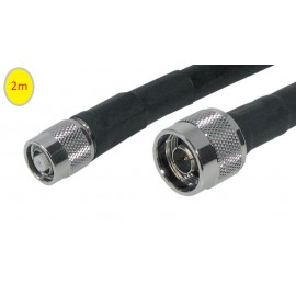 Low loss RF antenna cable N-M / R-TNC  (5m)